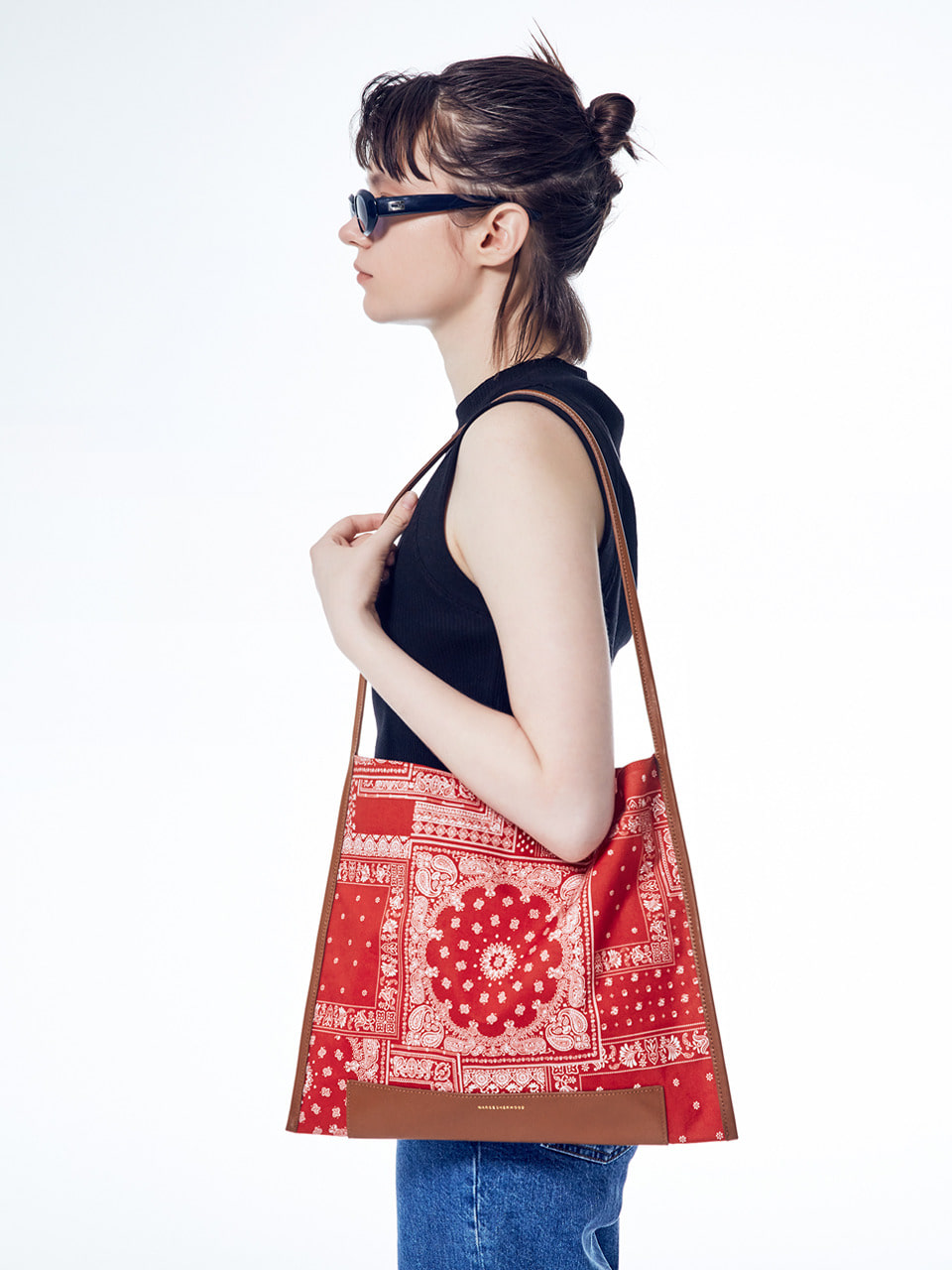 [20SUMMER] JOY SHOPPER PAISLEY_red