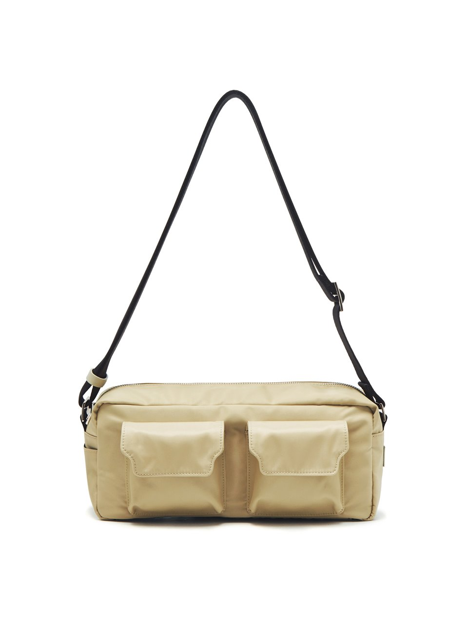 BUTTER TWO-POCKET NYLON_beige
