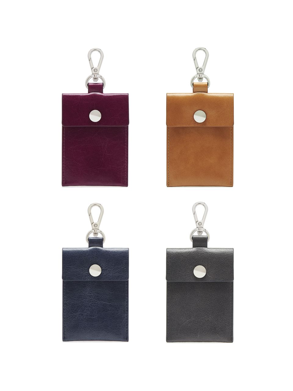 [20%OFF]BUTTON CARD CASE_4colors