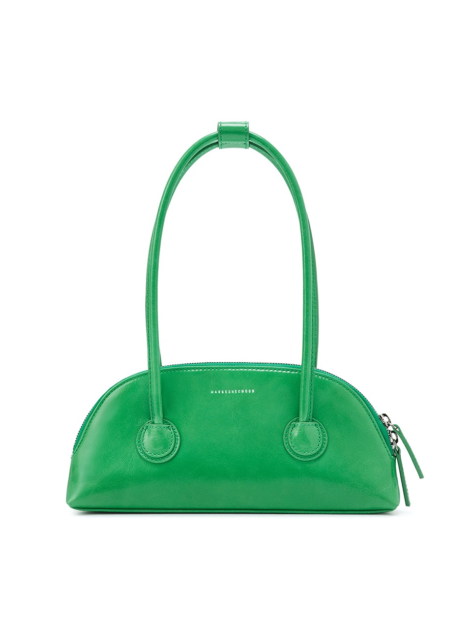 [21SS][exclusive] BESSETTE SHOULDER_green crinkle