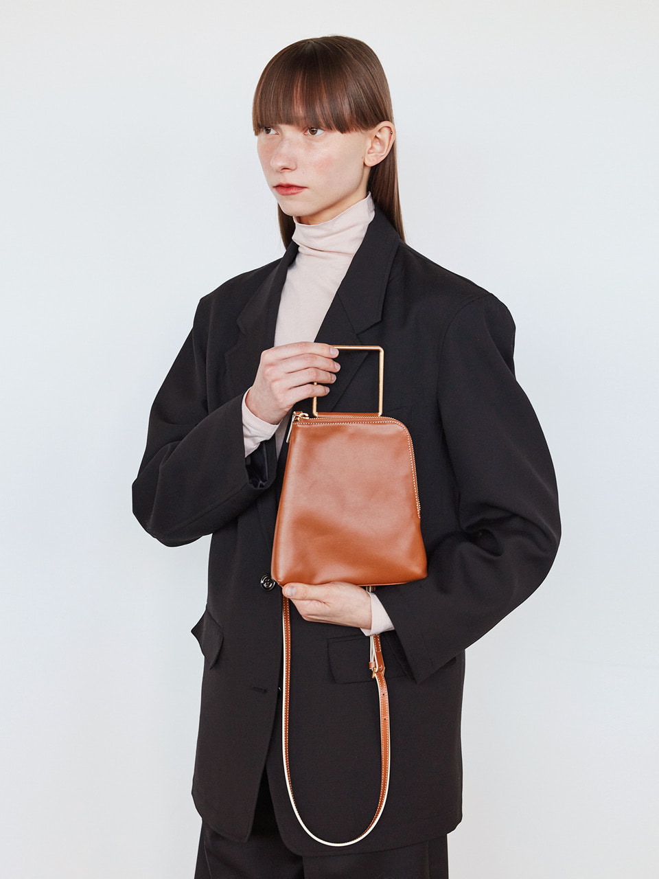 [20SS] BREEZE HANDLE_brown plain