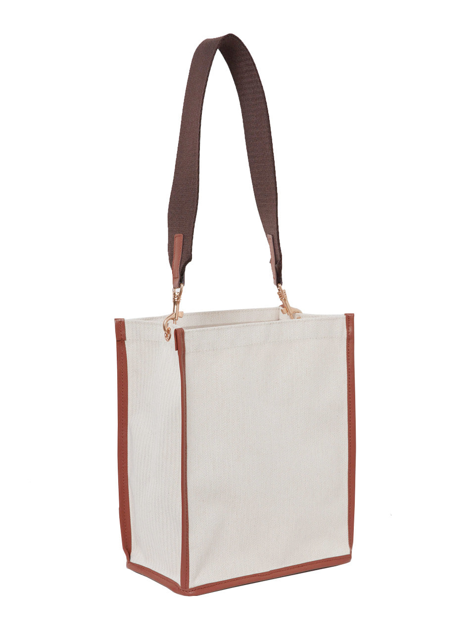 CANVAS SHOPPER_brown